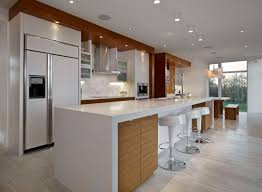 white gloss kitchen designs bar stunning white kitchen design with pendant lamps and wooden