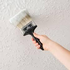 ez strip blog diy home update painted popcorn ceiling removal