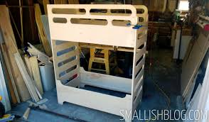 Toddler Bunk Bed Plans Our Unique Toddler Sized Bunk Beds Smallish