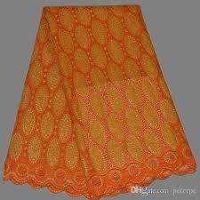 wedding dress material 2017 wedding dress material in orange cotton
