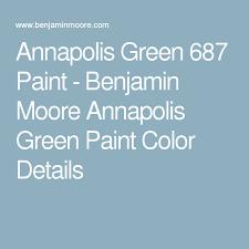 annapolis green 687 paint benjamin moore annapolis green paint