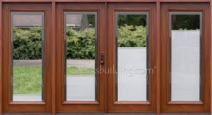 Wood Patio Door Wood Patio Door Blinds Handballtunisie Org
