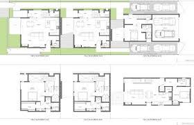 modern townhouse plans modern townhouse plans house amazing 3 bedroom 2 story floor urban 3