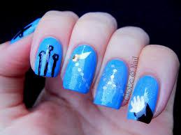 globe u0026 nail quidditch nail art