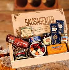 sausage gift baskets meats cheese