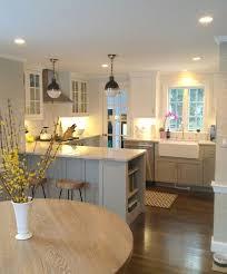 an ideal space to entertain or relax the kitchen dining room and