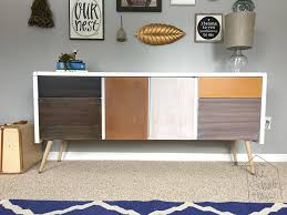 Midcentury Modern Buffet - diy mid century modern credenza the schmidt home