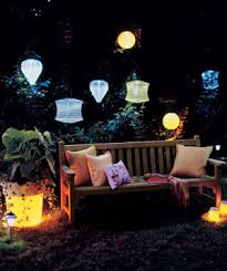 4 creative outdoor lighting ideas real simple