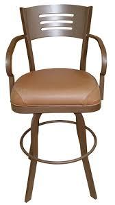 outdoor aluminum bar stools outdoor 34 inch aluminum bar stool extra tall with arms alfa barstools