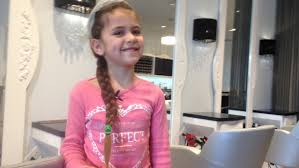 hair cut pics for 6 year girls 6 year old girl gets first haircut to help cancer patient ctv