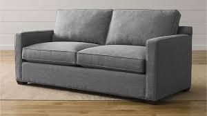 davis queen sleeper sofa crate and barrel