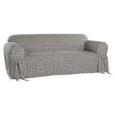 Black Sofa Slipcover by Black Couch Covers Target