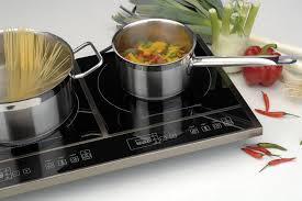 Portable Induction Cooktops Reviews Berghoff 2204221 Double Induction Cooktop Efficient