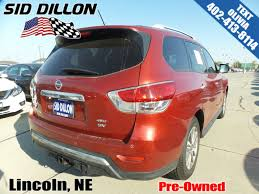 pre owned 2014 nissan pathfinder sv suv in lincoln 4n17756a sid