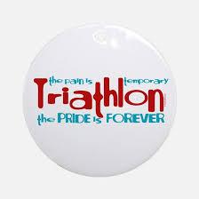 triathlon ironman ornament cafepress