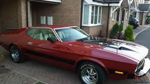 ford mustang for sale uk ford mustang mach 1 351 v8 auto fastback