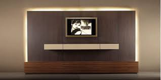 wall mounted tv cabinet led light u2014 derektime design ideal