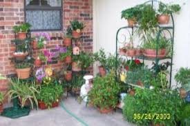 Patio Bakers Rack Shirley Lee U0027s Texas Garden History