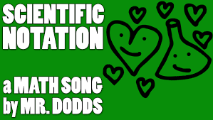 colin dodds scientific notation math song youtube
