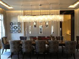 contemporary chandeliers rectangular white finished wooden display