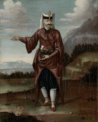 Ottoman Janissary Janissary In Ceremonial Dress By Jean Baptiste Vanmour 18th C