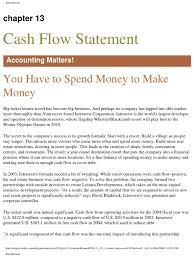 objectives of cash flow statement 13 cash flow statement cash flow statement deferral
