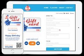 gift card business custom e gift card platform