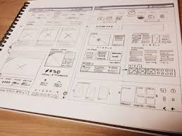 ui u0026 wireframe sketches for your inspiration web design ledger