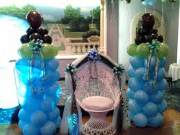 photo baby shower balloons chicago image