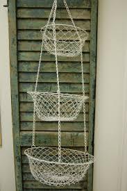 36 best fruit veg baskets images on pinterest kitchen wire vintage wire mesh hanging basket kitchen display