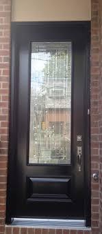 Exterior Steel Entry Doors With Glass Interior Enchanting Design Ideas Using Wall And Brown
