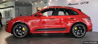 Porsche Macan Red - porsche macan gts launched in malaysia u2013 rm710k image 509979