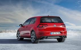 fast volkswagen cars 2018 vw gti golf rear the fast lane car