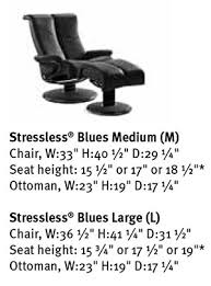 Lee Longlands Sofas Ekornes Stressless Blues Recliner Chair Lounger Ekornes