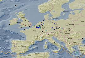 Italy Earthquake Map Royal Observatory Of Belgium Seismology Gravimetry