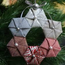 ornament along week 1 hexies wreath ornament christmas