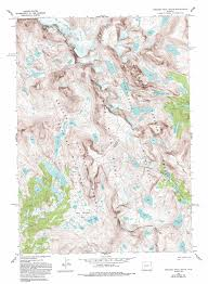 Wy Map Fremont Peak South Topographic Map Wy Usgs Topo Quad 43109a5