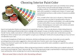 mceneaney painting interior color