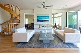 free standing room fans beach house ceiling fans eclectic living room with hardwood floors