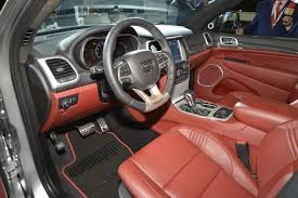 jeep interior super villain 707 hp jeep grand cherokee trackhawk