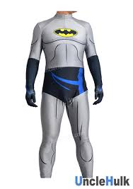 grey batman lycra zentai costume unclehulk com studio