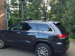 jeep grand cherokee kayak rack yakima whispbar s25 flush 2014 grand cherokee jeep garage jeep