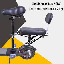 si e enfant scooter enfant selle et marchandises rack pour xiaomi planche à roulettes