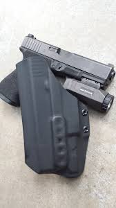 glock 22 light bearing holster kaos concealment fusion l holster soldier systems daily