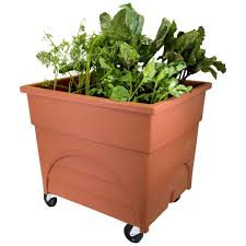 Where To Buy Large Planters by Orange Planters Pots U0026 Planters The Home Depot