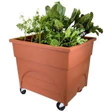 orange planters pots u0026 planters the home depot