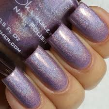 kbshimmer thistle be the day holographic nail polish