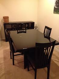 fresh ikea dining table glass dining table as craigslist