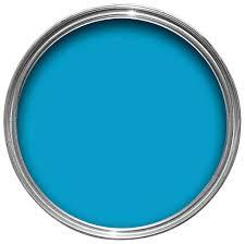 blue gloss paint diy