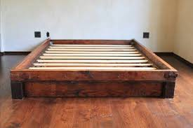 Reclaimed Wood Platform Bed Reclaimed Wood Bed Frames Reclaimed Wood Platform Bed Barn
